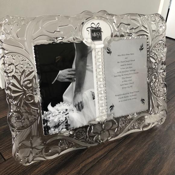 Mikasa Accents Mikasa Crystal Wedding Frame Poshmark